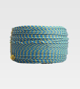 Blue/Yellow Cable Hauling Rope