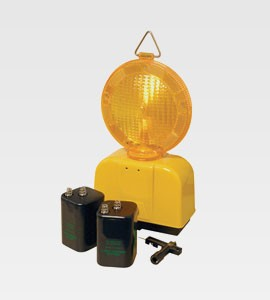 Amber Flashing Hazard Lamp