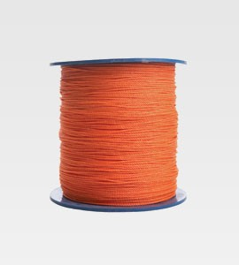 Orange Cable Hauling Rope