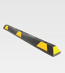 1650mm Black/Yellow Rubber Wheelstop