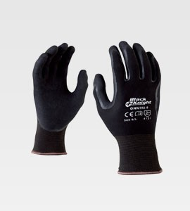Black Knight Nitrile Palm Gloves