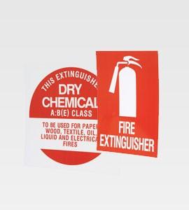 Fire Extinguisher Sign Kit