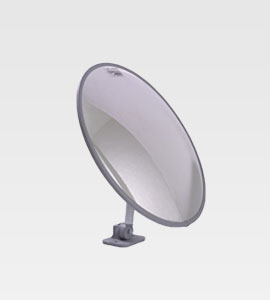 H/Duty Convex Mirror Post/Wall Mount