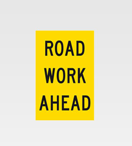 Road Work Ahead CL1 C/F 600×925