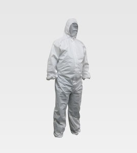 Guardall White Disposable Coveralls